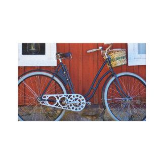 bicicleta lona estirada galerias