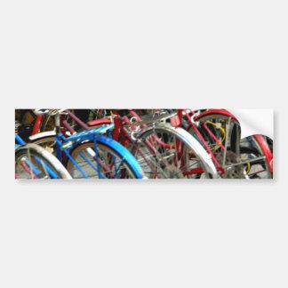 Bicicleta Pegatina De Parachoque