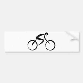 Bicicleta Etiqueta De Parachoque