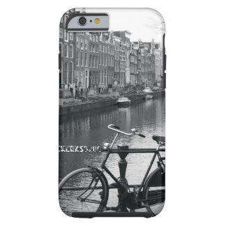 Bicicleta por el canal funda resistente iPhone 6