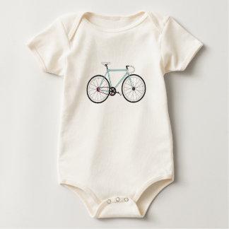 Bicicleta retra clásica body para bebé