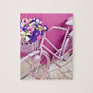 Bicicleta rosada puzzle