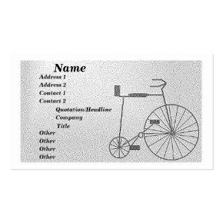 Bicicleta Tarjetas De Visita