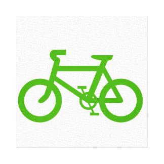 Bicicleta verde de Eco Impresiones En Lona