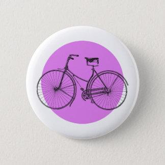 Bicicleta vieja chapa redonda de 5 cm