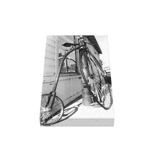 Bicicleta vieja de Timey Impresion De Lienzo