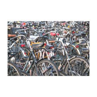 Bicicletas Impresion De Lienzo