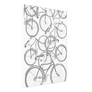 Bicicletas Impresión En Lienzo