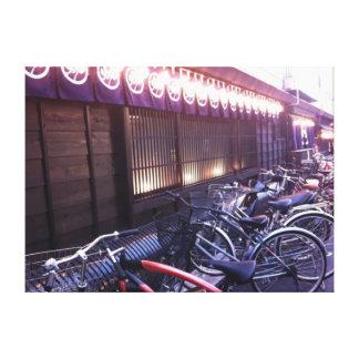 Bicicletas Impresión De Lienzo