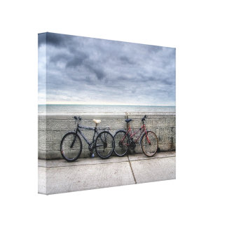 Bicicletas Impresiones En Lona Estiradas
