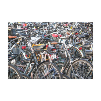 Bicicletas Impresión En Lienzo Estirada