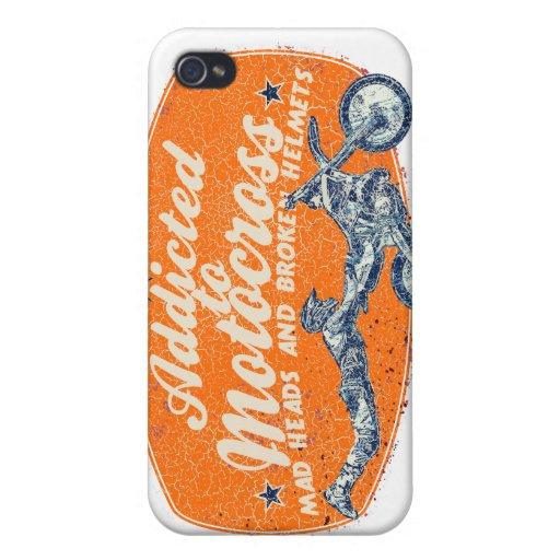 Bicis de la suciedad iPhone 4/4S carcasas