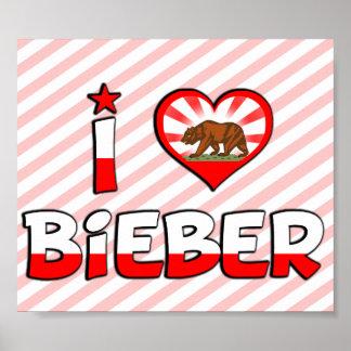 Bieber CA Posters