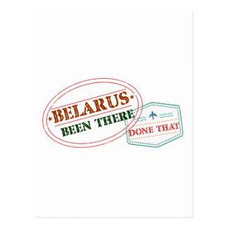 Bielorrusia allí hecho eso postal