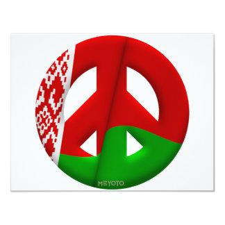 Bielorrusia Invitación 10,8 X 13,9 Cm