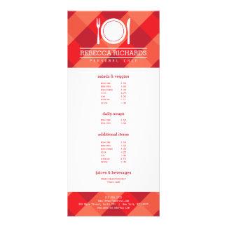 Bifurcación, placa, logotipo del cuchillo en el tarjeta publicitaria