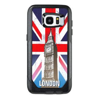 Big Ben de Londres sobre Union Jack Funda OtterBox Para Samsung Galaxy S7 Edge