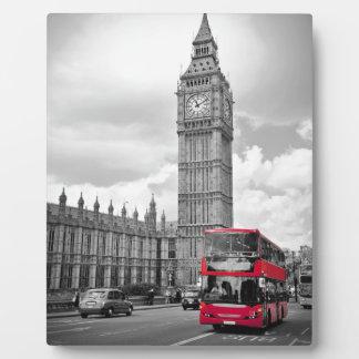 Big Ben Londres Placa Expositora