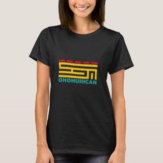 Big Logo OHOHUIHCAN Women Black Camiseta