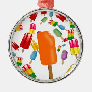 Big Popsicle Chaos by Ana Lopez Adorno Redondo Plateado