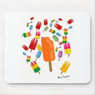 Big Popsicle Chaos by Ana Lopez Alfombrilla De Ratón