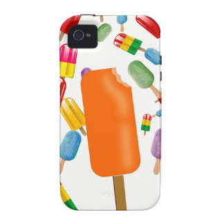 Big Popsicle Chaos by Ana Lopez Case-Mate iPhone 4 Funda