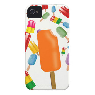 Big Popsicle Chaos by Ana Lopez iPhone 4 Case-Mate Protectores