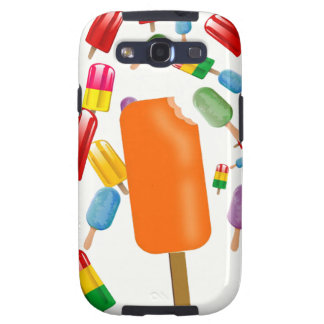 Big Popsicle Chaos by Ana Lopez Galaxy S3 Funda
