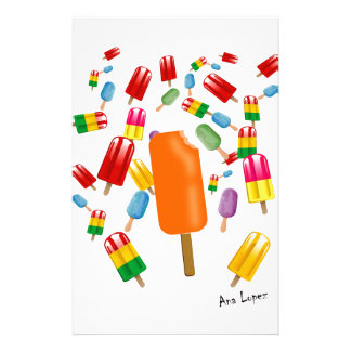 Big Popsicle Chaos by Ana Lopez Papeleria De Diseño