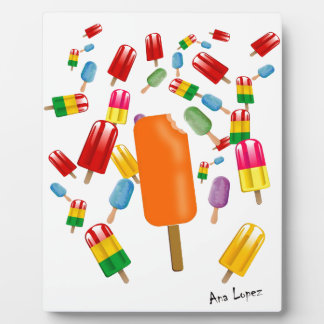 Big Popsicle Chaos by Ana Lopez Placas De Madera