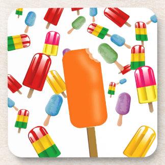 Big Popsicle Chaos by Ana Lopez Posavasos De Bebidas