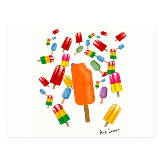 Big Popsicle Chaos by Ana Lopez