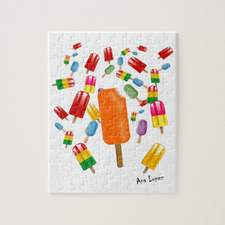 Big Popsicle Chaos by Ana Lopez Puzzle Con Fotos