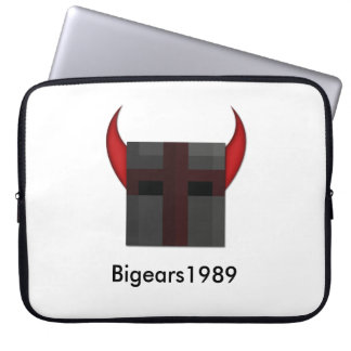 "Bigears1989 15"" manga del ordenador portátil de la funda para portátil"