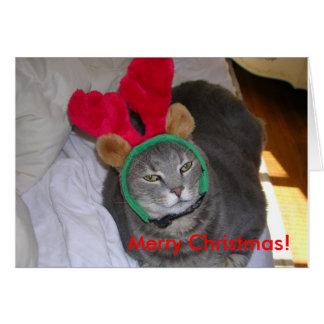 ¡bigfatcat, Felices Navidad! Tarjeta De Felicitación