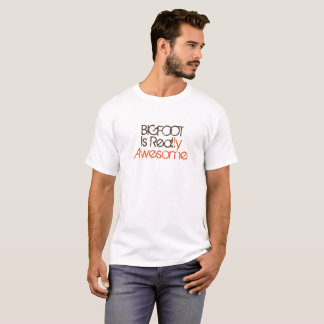 Bigfoot es camisa divertida real