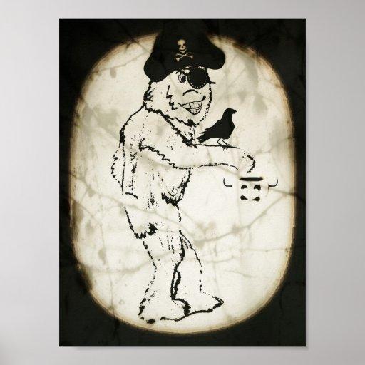 Bigfoot fantasmagórico poster