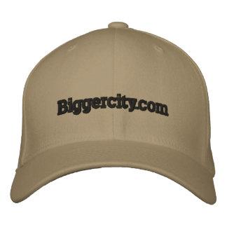 Biggercity com gorra de béisbol
