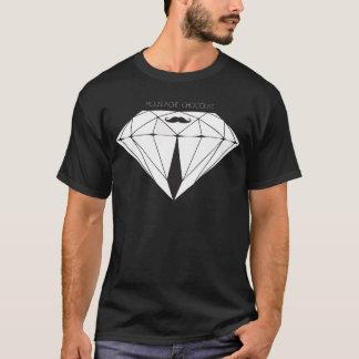 Bigote Chocolate diamonds black Camiseta