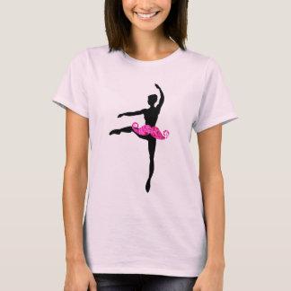 Bigote de la bailarina camiseta