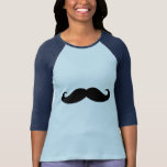 Bigote del bigote, diseño del bigote camisetas