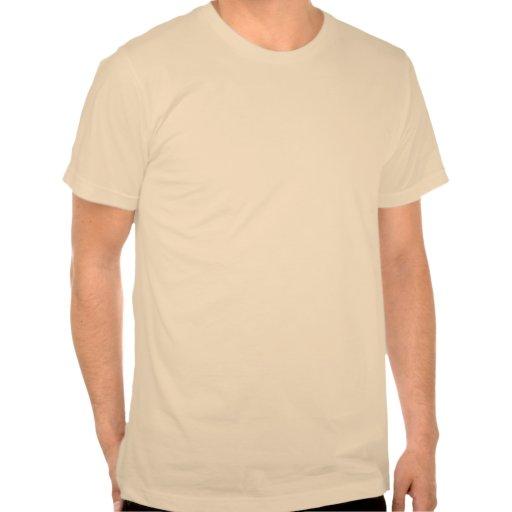 Bigote del La (luz) Camisetas