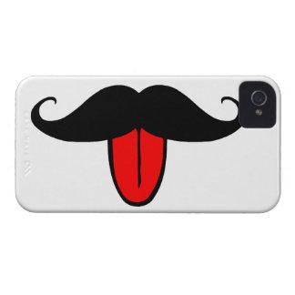 Bigote divertido Case-Mate iPhone 4 carcasas