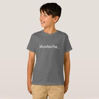 Bigote… La camiseta de los niños