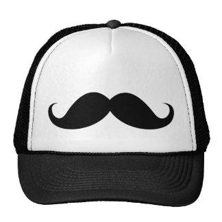 Bigote negro divertido del bigote del manillar gorras de camionero