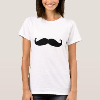 Bigote negro o bigote negro para los regalos de la camiseta