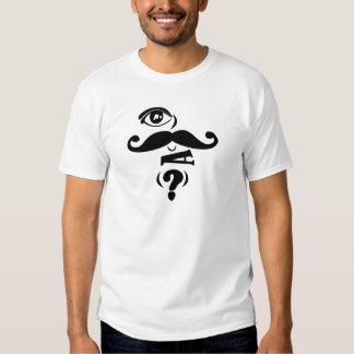 Bigote U del ojo una pregunta Camisas