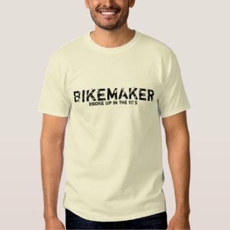 BIKE EL FABRICANTE, adaptó para arriba los años 90 Camisetas
