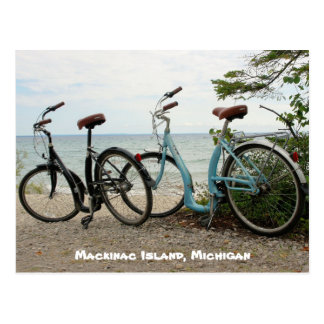 Bike la isla - isla de Mackinac, Michigan Postal