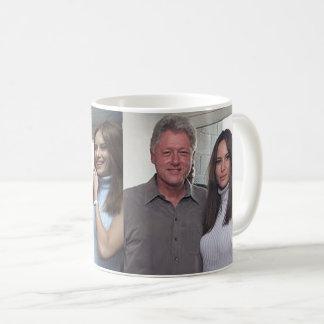 Bill Clinton y los triunfos en los 2000 E.E.U.U. Taza De Café